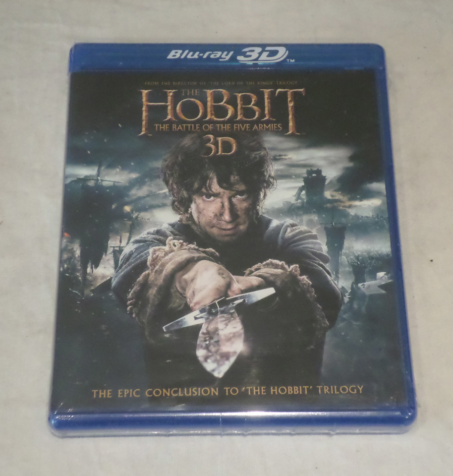The hobbit blu ray dvd - Paint shop miami