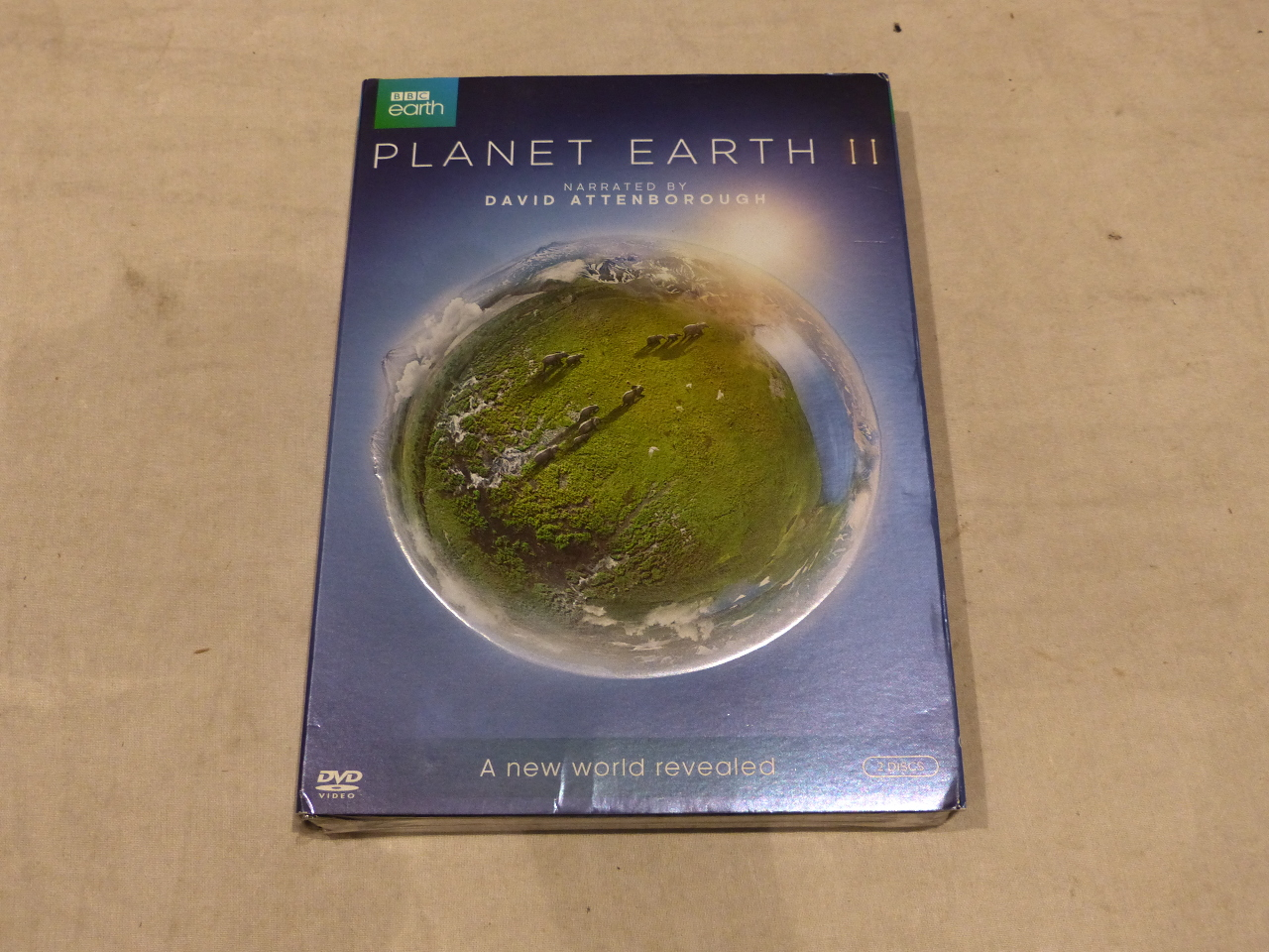 PLANET EARTH II (BBC EARTH) DVD SET NEW WITH SLIPCOVER ...