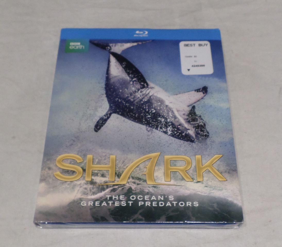SHARK (BBC EARTH) BLU-RAY DISC NEW