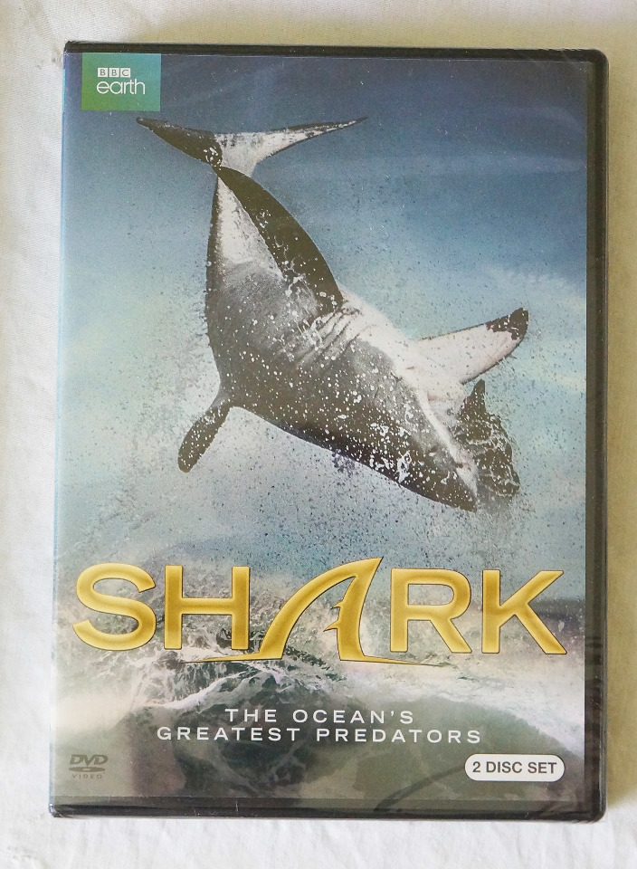 SHARK: THE OCEAN'S GREATEST PREDATOR BBC EARTH 2 DISC SET DVD NEW
