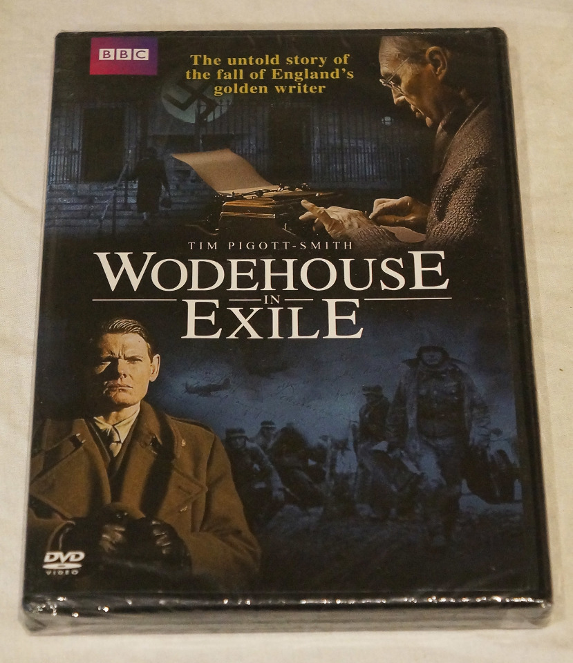 WODEHOUSE IN EXILE BBC DVD NEW / REGION 1