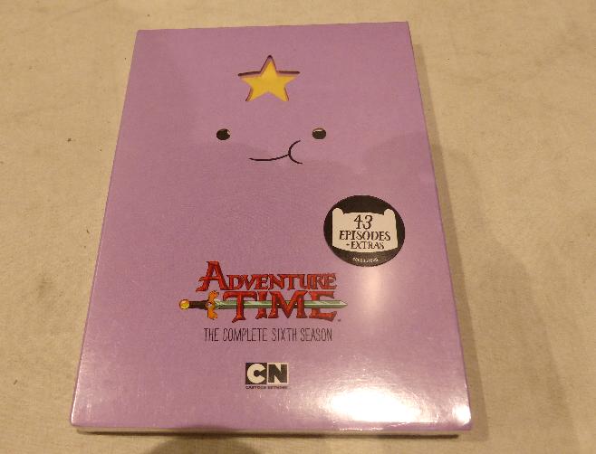 Adventure Time The Complete Sixth Season Season 6 Dvd