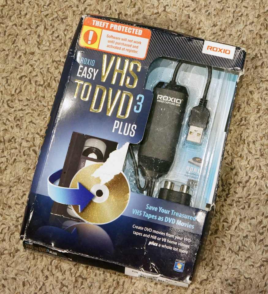 roxio vhs to dvd 3 plus manual