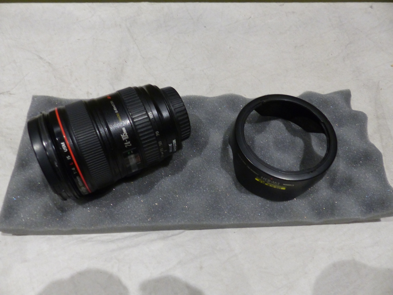 EW-83L Camera Mount Lens Hood for Canon EF 24-70mm f//4l L is USM Lens Camera Mount Lens Hood Replaced Oumij Camera Lens Hood for Canon