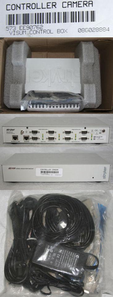 STRYKER EDAM ENDOSCOPY CAMERA VISUAL CONTROL BOX NEW