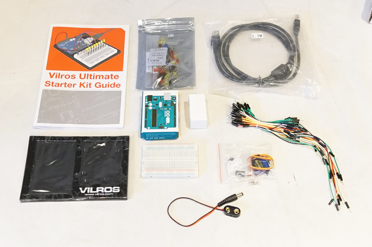Vilros arduino uno rev ultimate starter kit p n