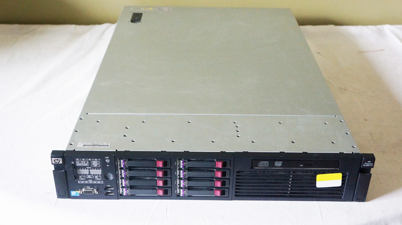 hp proliant dl380 g7 server 583913 001 2 6 core x5650 12gb 8 72gb 15k ebay. Black Bedroom Furniture Sets. Home Design Ideas