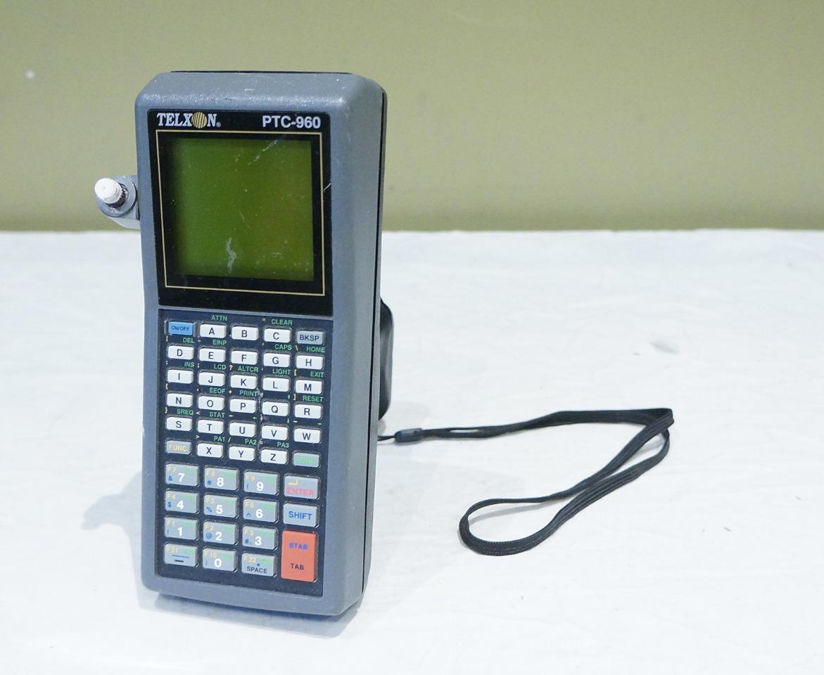 Telxon Ptc-960 Handheld Portable Barcode Scanner 960.1.d90.p2l2 ...