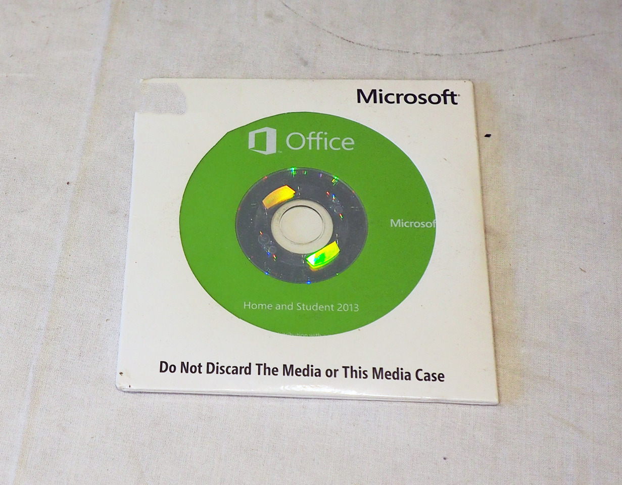 MICROSOFT / HP OFFICE 2013 HOME & STUDENT W/ PRODUCT KEY NEW!
