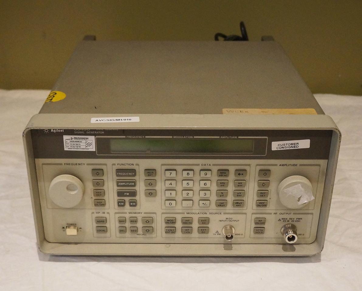 Agilent Signal Generator : Agilent signal generator khz mhz c ato opt