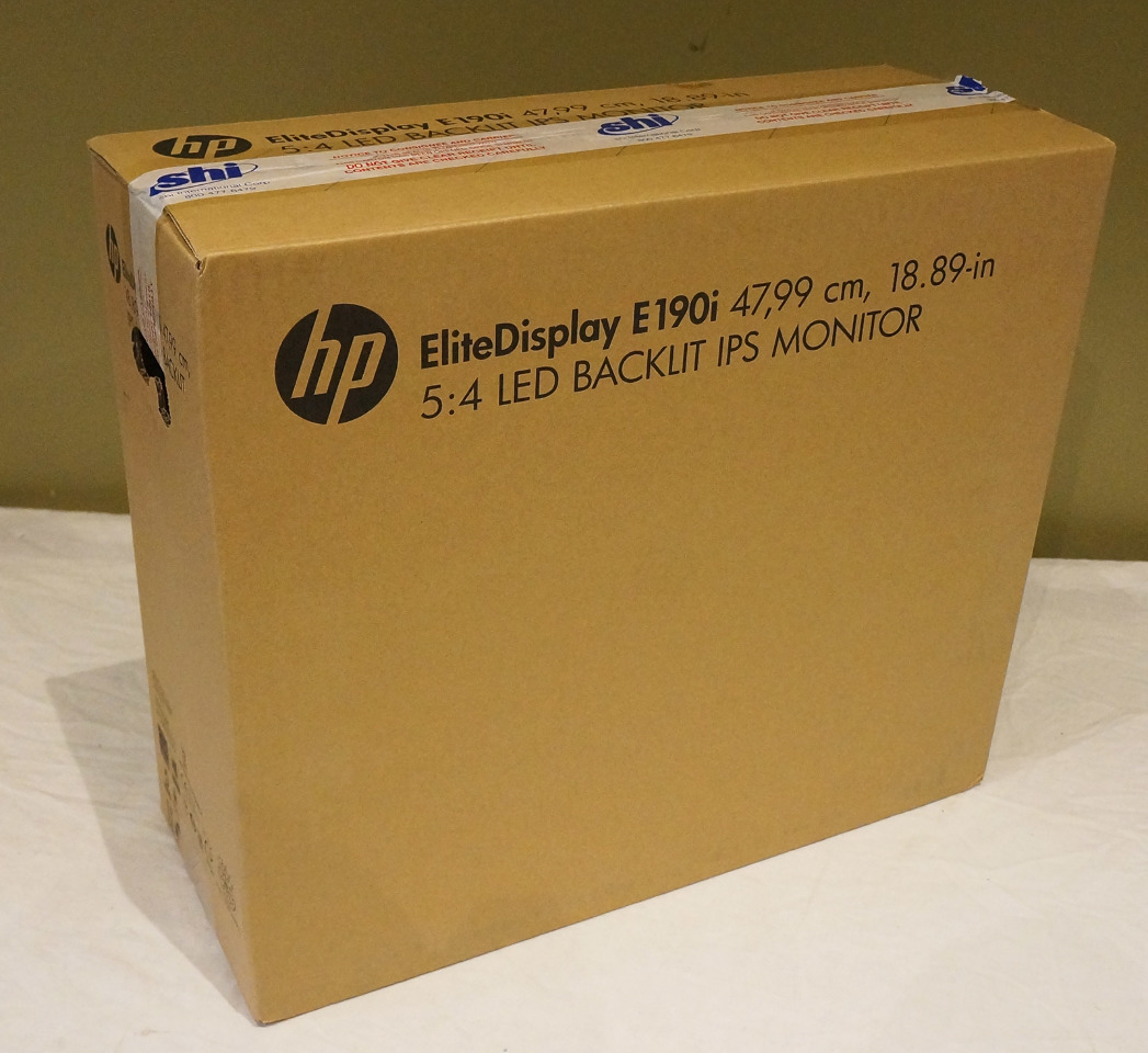 Hp Elitedisplay Smartbuy E190i Black 18 9 Quot 8ms Led Backlit