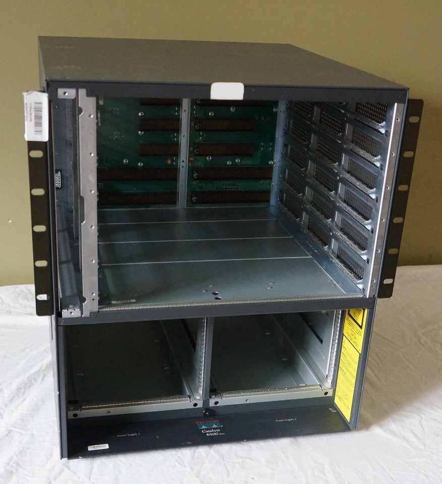 CISCO SYSTEMS CATALYST 6500 SERIES CHASSIS WS-C6500 | MDG Sales, LLC