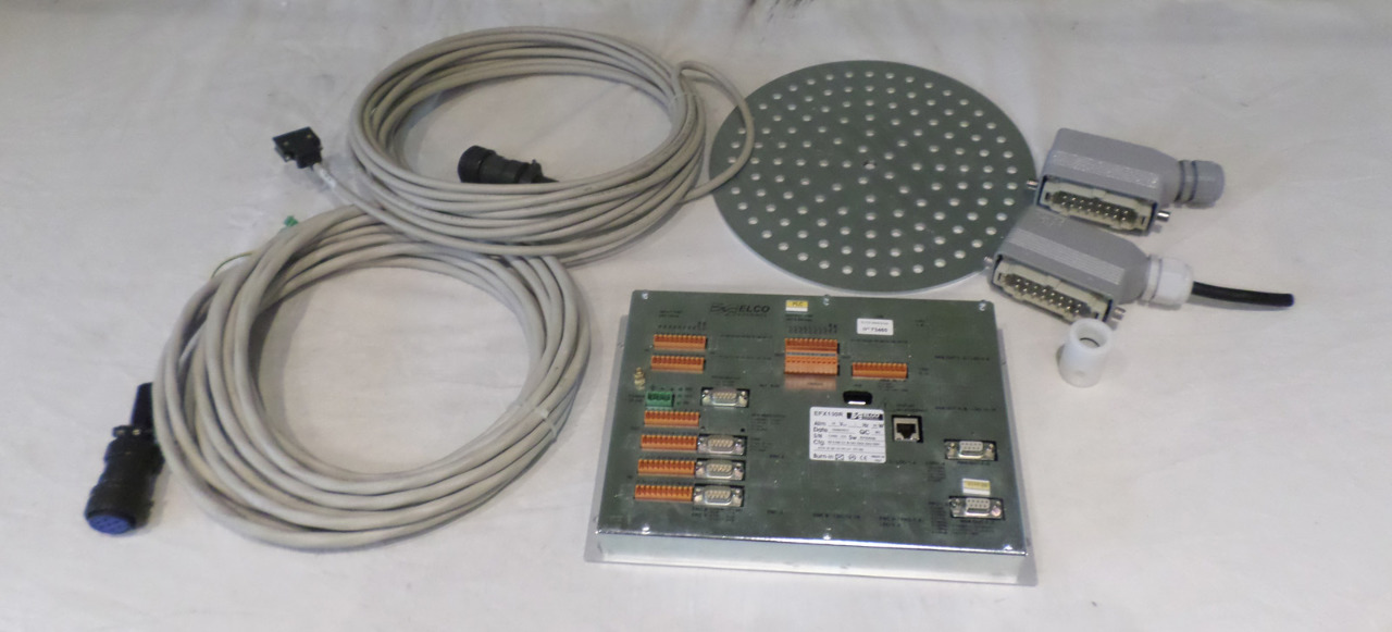 ELCO ELETTRONICA EFX100R UNIT WITH CABLES