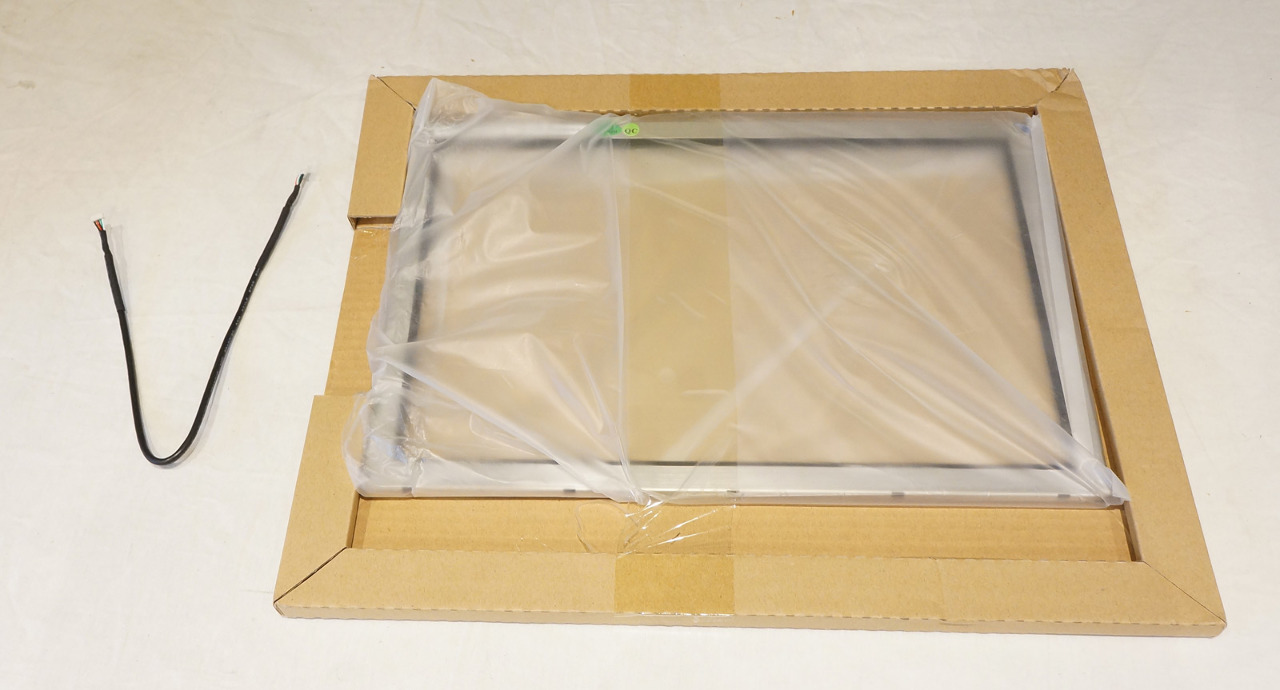 """IR TOUCH SYSTEMS 15"""" INFRARED TOUCH SCREEN RE2100G015S W/ CORD"""