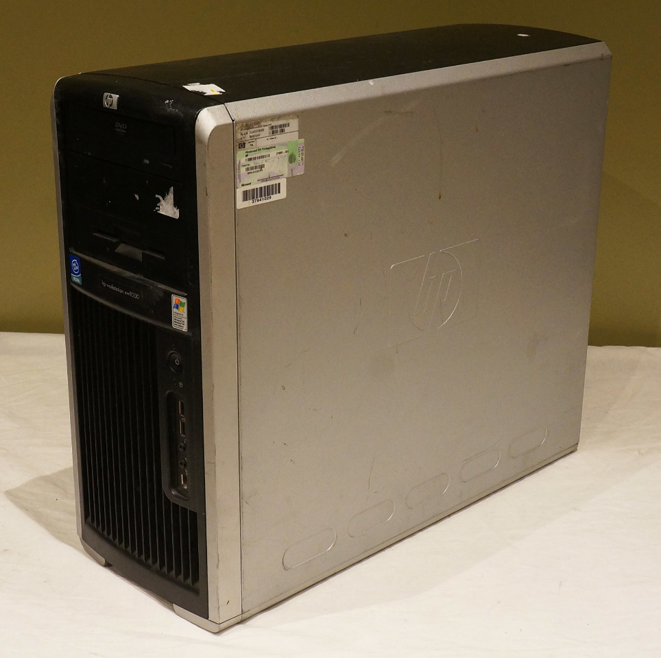 hp workstation xw8200 no ram or hdd doesn u0026 39 t boot for parts