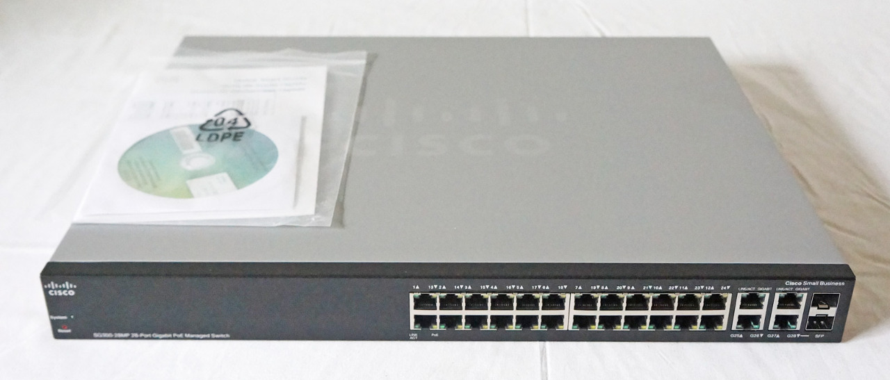 Cisco SG300 Firmware Upgrade Rev A - Just add software