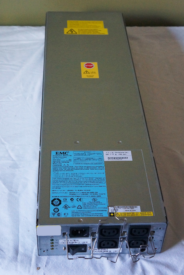 EMC2 ASTEC STANDBY POWER SUPPLY 2200VA 2200W 078-000-050 AA23540 ...