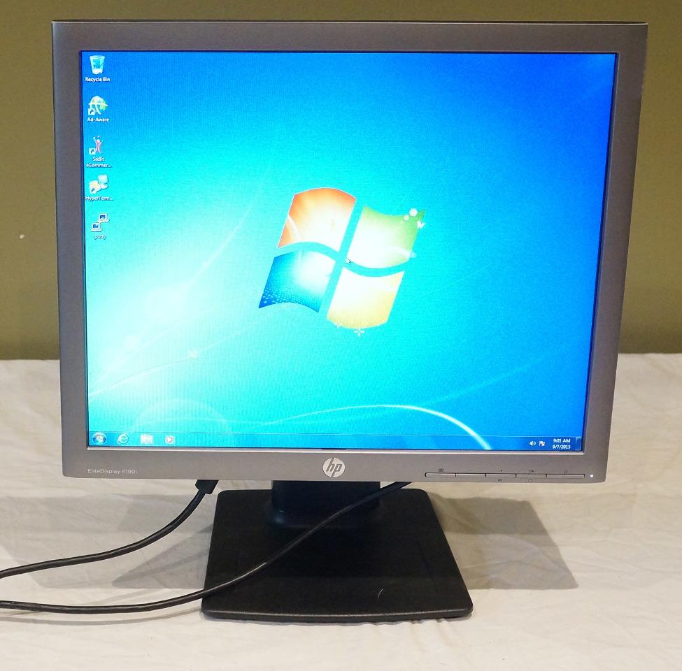 Hp 18 9 Quot 5 4 Led Backlit Ips Monitor Elitedisplay E190i