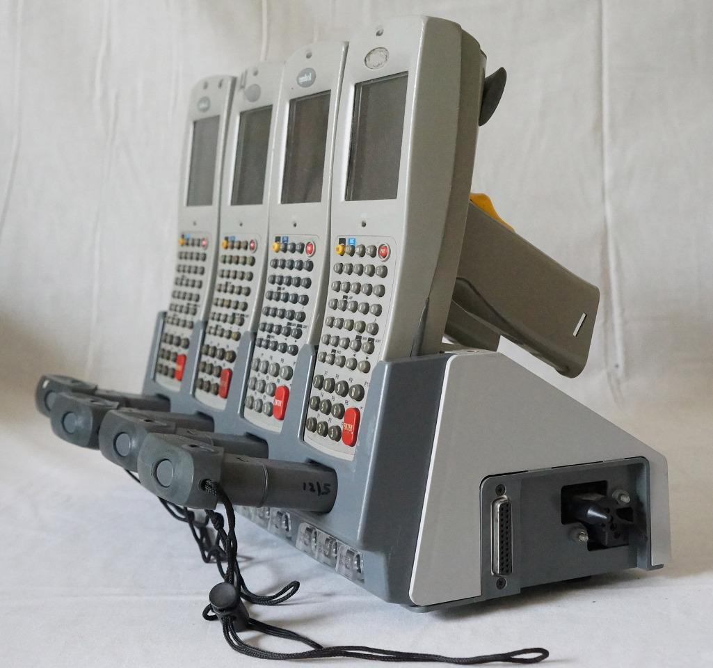 Slot barcode scanner
