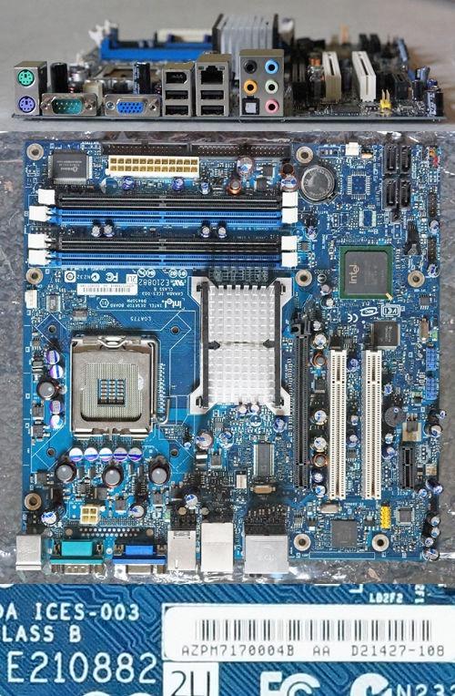 Intel dg33bu motherboard