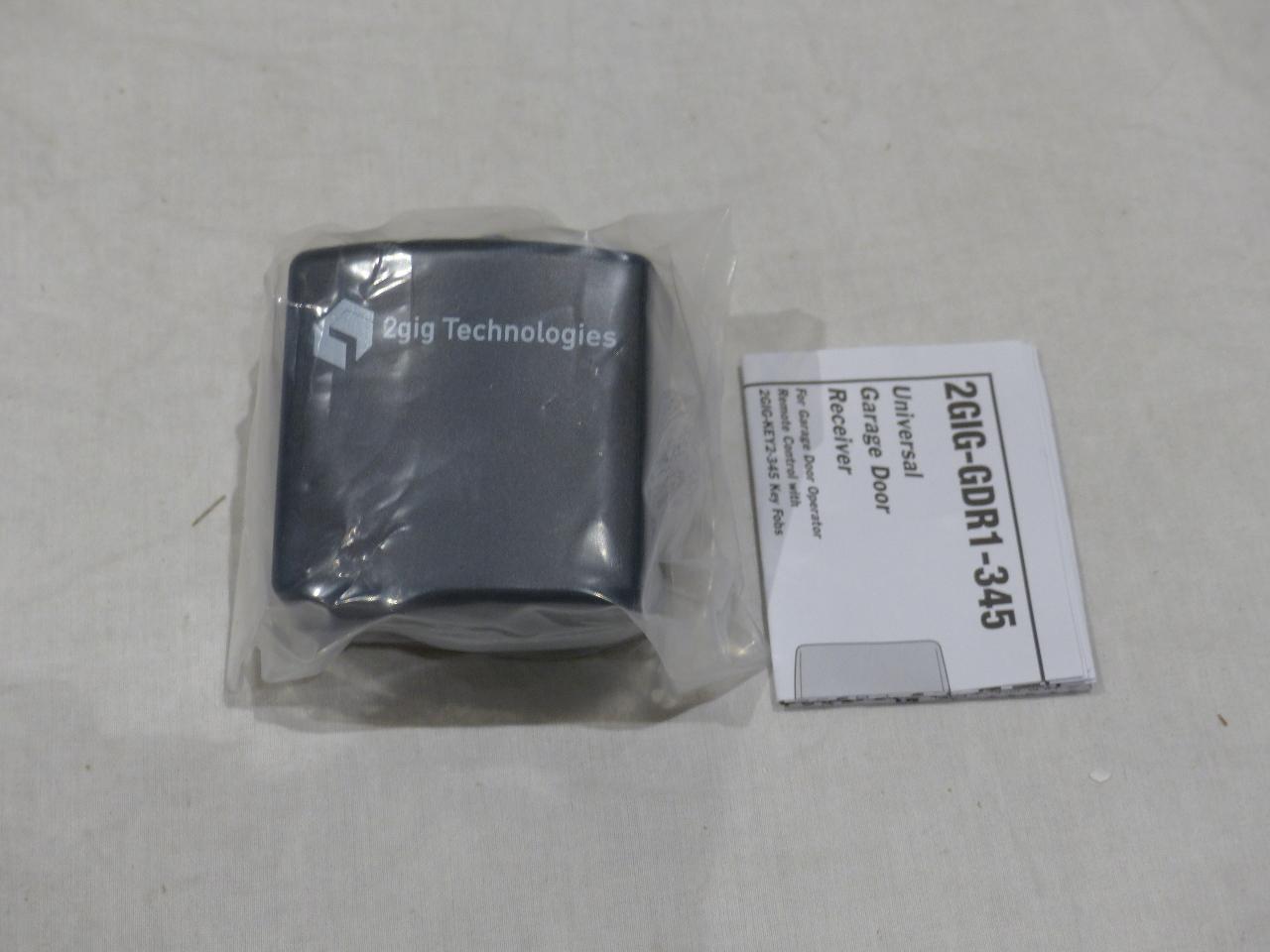 garage door receiver2GIG TECHNOLOGIES UNIVERSAL GARAGE DOOR RECEIVER 2GIGGDR1345