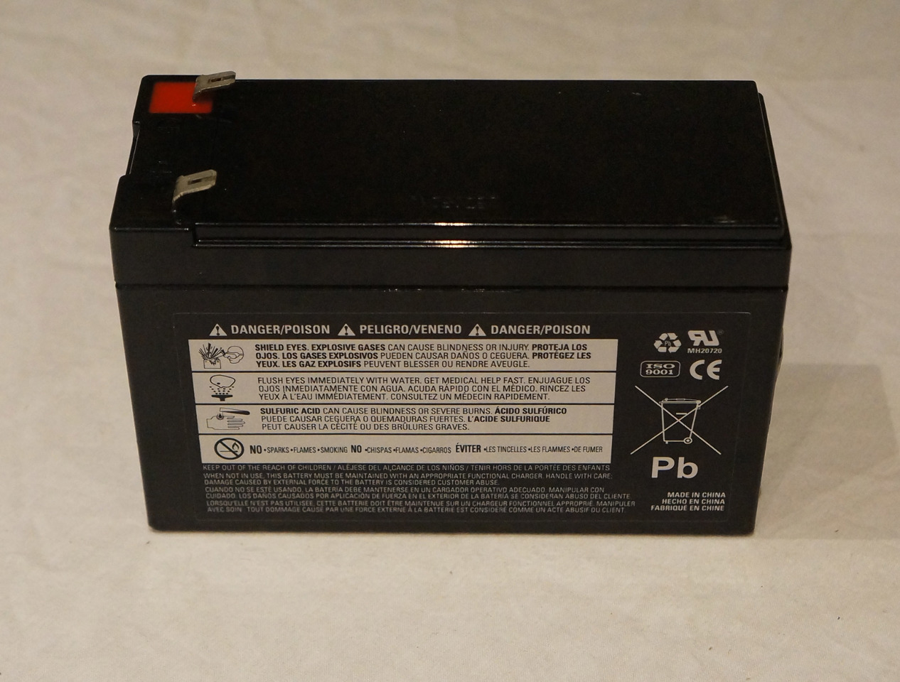 Duracell Ultra Dura12 9f2 12v 9ah Agm Sealed Non Spillable