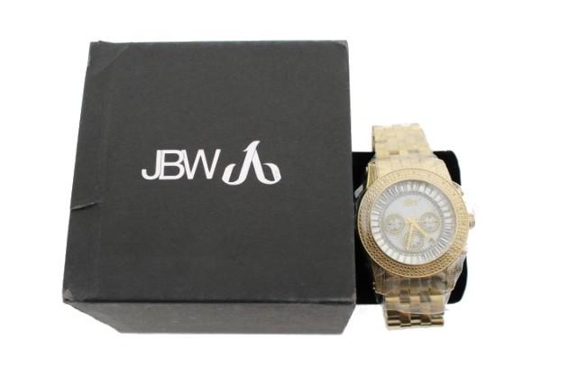 JBW JB-6219-F KRYPTON GOLD-TONE WATCH