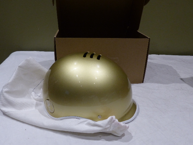 THOUSAND 43522596682 SMALL GOLD BIKE HELMETS