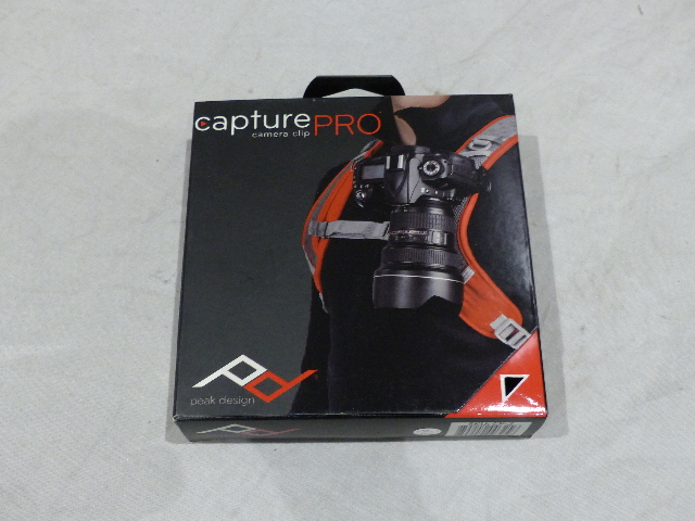 PEAK DESIGN CAPTUREPRO CP-2 CAMERA CLIP WITH PROPLATE