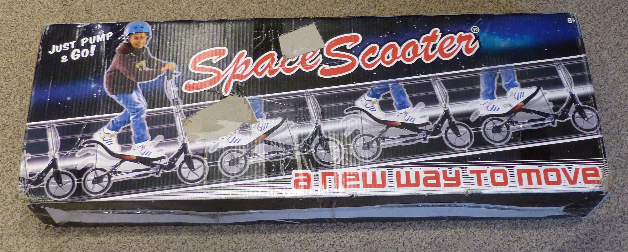 SPACESCOOTER X580 SCOOTER F59C9C08 BLACK