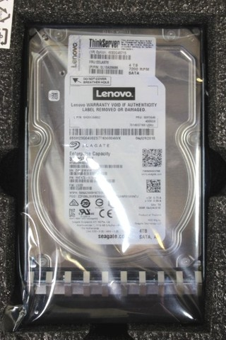 LENOVO 4XB0G45715 THINKSERVER 4 TB 3.5IN INTERNAL HARD DRIVE