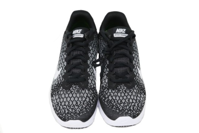 NIKE AIR MAX SEQUENT 2 WOMENS BLACK/WHITE RUNNING SHOES SZ 8.5 852465002