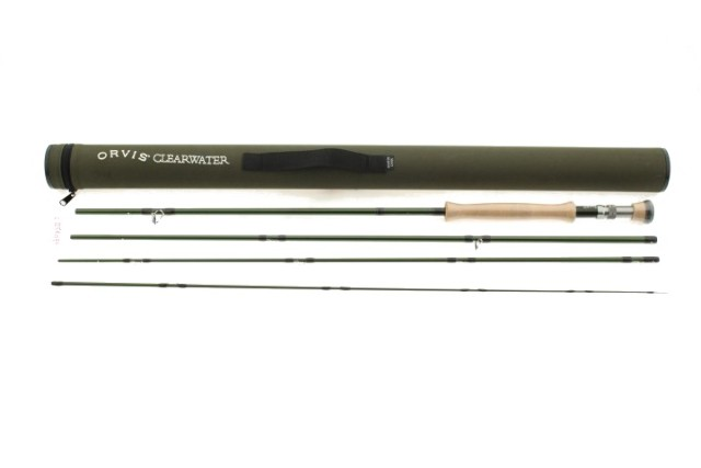 ORVIS CLEARWATER 10FT 4-3/8OZ 8WT ROD 4Y1G5151