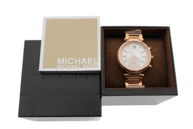 MICHAEL KORS SAWYER (MK6282) ROSE GOLD-TONE WATCH
