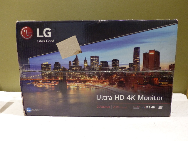 LG 27UD68W 27 IN. ULTRAHD 4K IPS LCD MONITOR