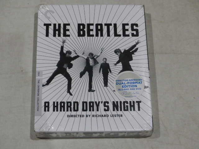 THE BEATLES: A HARD DAY'S NIGHT (THE CRITERION COLLECTION) DUAL FORMAT EDITION