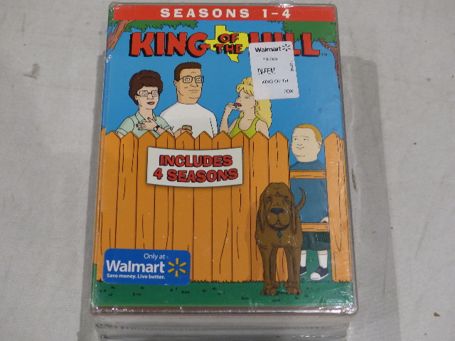 KING OF THE HILL SEASON 1-4 DVD NEW
