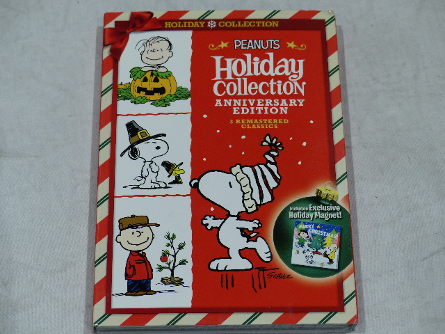 PEANUTS HOLIDAY COLLECTION ANNIVERSARY EDITION DVD SET NEW W/ SLIPCOVER