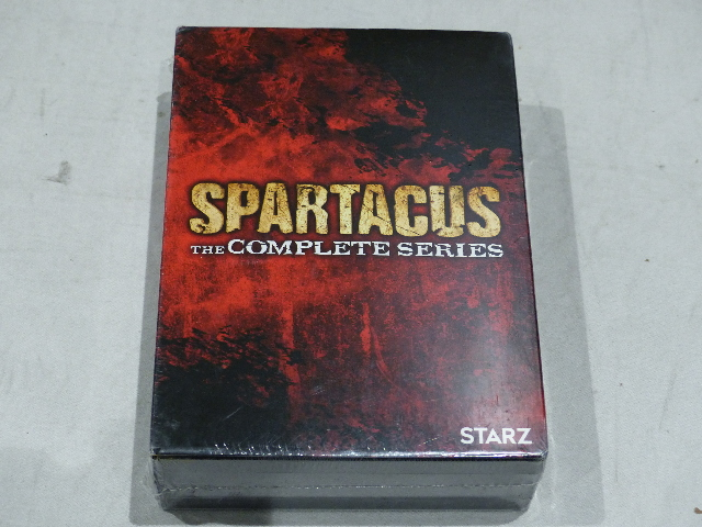 SPARTICUS THE COMPETE SERIES DVD NEW / SEALED