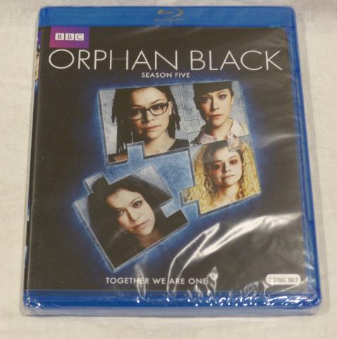 ORPHAN BLACK: SEASON FIVE BLU-RAY SET NEW NO SLIPCOVER