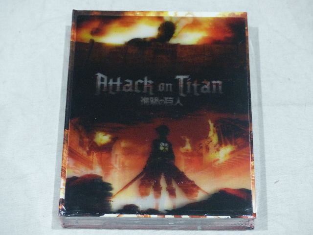 ATTACK ON TITAN LIMITED EDITION PART 1: EPISODES 1-13 BLU-RAY+DVD NEW