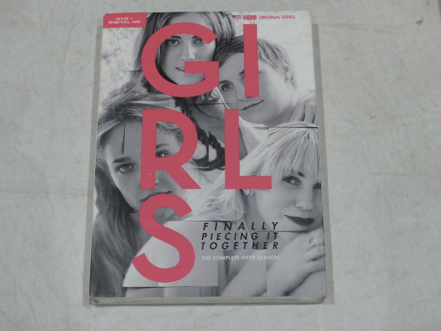 GIRLS: THE COMPLETE FIFTH SEASON DVD+DIGITAL HD NEW W/ SLIPCOVER