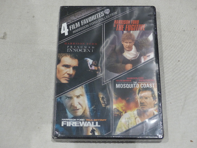 4 FILM FAVORITES HARRISON FORD COLLECTION DVD NEW / SEALED
