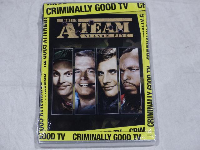 THE A TEAM: SEASON FIVE DVD SET NEW