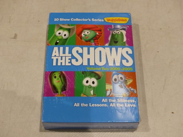 VEGGIE TALES ALL THE SHOWS VOLUME TWO 2000-2005 NEW