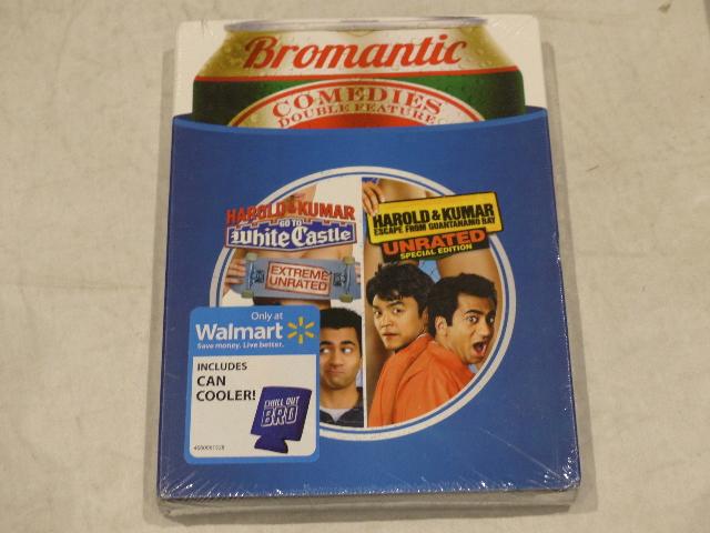HAROLD AND KUMAR WHITE CASTLE/ESCAPE GUANTANAMO BAY DOUBLE FEATURE DVD