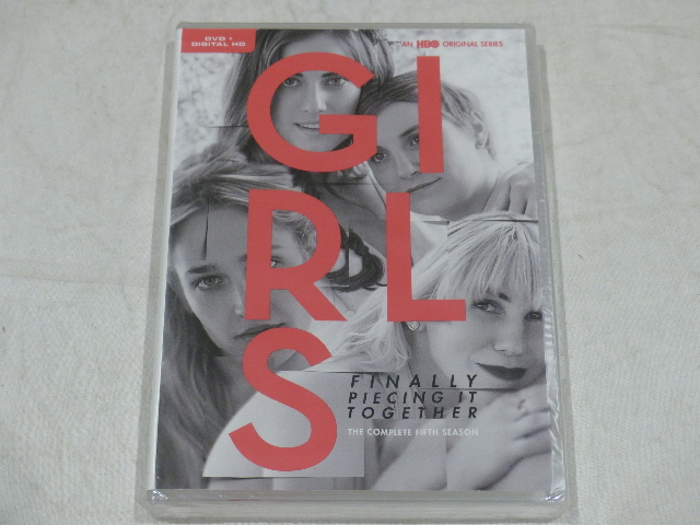 GIRLS: THE COMPLETE FIFTH SEASON DVD+DIGITAL HD NEW