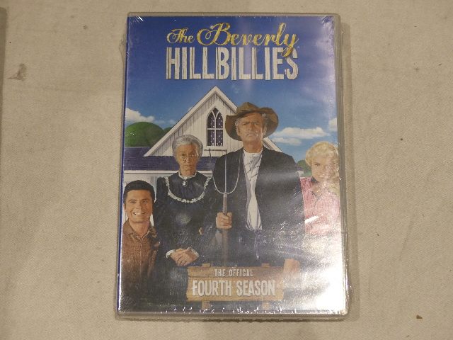 THE BEVERLY HILLBILLIES THE OFFICIAL FOURTH SEASON DVD NEW