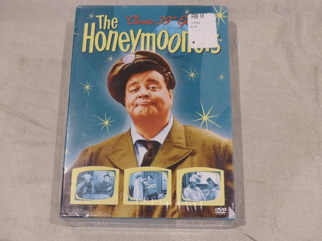 THE HONEYMOONERS DVD NEW