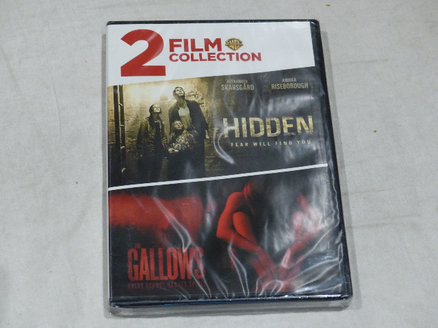 HIDDEN/THE GALLOWS DVD 2 FILM COLLECTION NEW